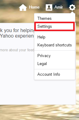 how to customize signature in yahoo mail